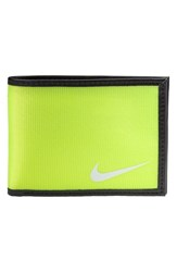 Men's Nike 'Tech Essentials' Wallet Yellow Volt