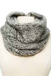 Forever 21 Men Marled Infinity Scarf