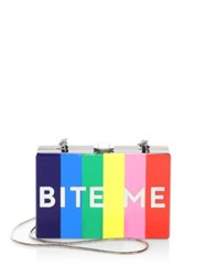 Milly Bite Me Box Convertible Clutch Multi