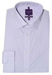 Double Two Slim Fit Formal Shirt Lilac