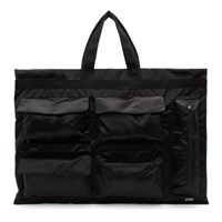 Raf Simons Black And Blue Eastpak Edition Poster Tote
