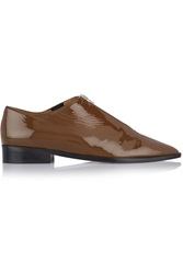 Marni Patent Leather Brogues Brown