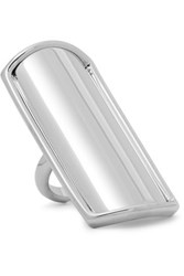J.W.Anderson Silver Plated Ring One Size