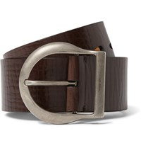 Tom Ford 5Cm Brown Leather Belt Brown