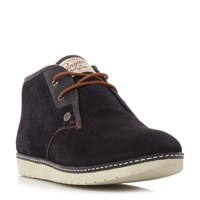 Original Penguin Night Suede Chukka Boots Navy