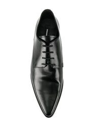 Dsquared2 Pointed Derby Shoes Black