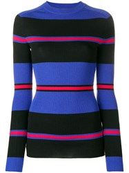 Fiorucci Striped Jumper Blue