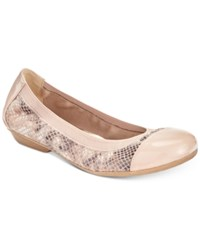 Karen Scott Ronni Flats Only At Macy's Women's Shoes Natural Snake
