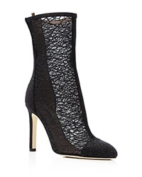 Sjp By Sarah Jessica Parker Metropolitan Mesh High Heel Booties Bloomingdale's Exclusive Galileo