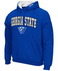 Colosseum Men's Georgia State Panthers Arch Logo Hoodie Royalblue