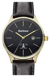 Men's Barbour 'Heritage' Strap Watch 40Mm
