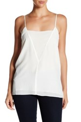 Brochu Walker Jane Silk Cami White