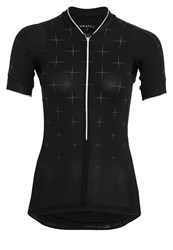 Craft Belle Sports Shirt Black White