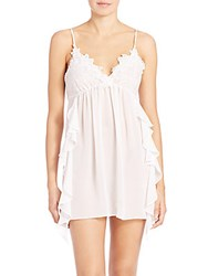 In Bloom Dancer Chiffon Chemise Ivory