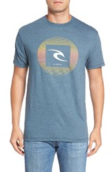 Rip Curl Men's Tv Graphic T Shirt Navy
