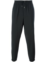 Mcq By Alexander Mcqueen Tapered Track Pants Black
