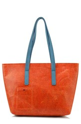 Men's Mad Rabbit Kicking Tiger 'Florida' Industrial Felt Tote Metallic Copper