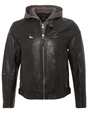Gipsy Biko Leather Jacket Schwarz Black