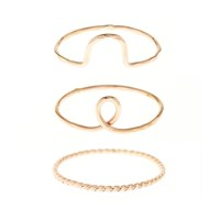 One Six Five The Perfect Stack14k Yellow Gold Filled 3