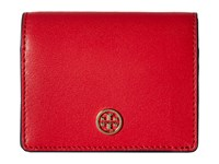 Tory Burch Parker Foldable Mini Wallet Cherry Apple Wallet Handbags Red
