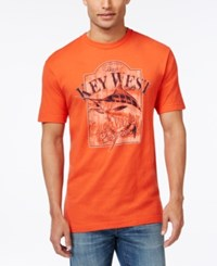G.H. Bass And Co. Key West T Shirt Celosia Orange