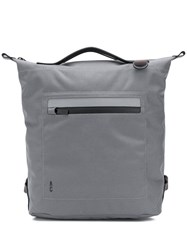 Ally Capellino Mini Hoy Travel And Cycle Backpack Grey