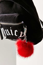 Juicy Couture For Uo Pompom Keychain Red
