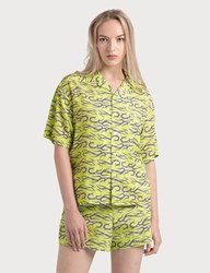 Ashley Williams Tropic Shirt Green