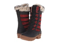 Keen Wapato Tall Wp Chili Pepper Black Women's Lace Up Boots Red