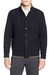 Men's Toscano Cable Knit Cardigan
