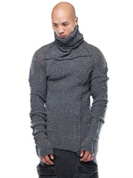 Demobaza Gateway Fluffy Knit High Neck Sweater