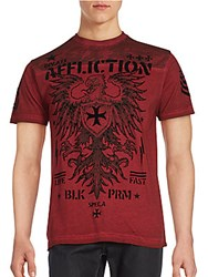 Affliction Full Value Short Sleeve T Shirt Dirty Red