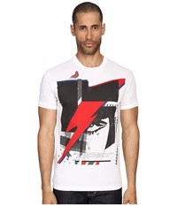 Dsquared Chic Dan Fit Soft Print Lightening T Shirt White