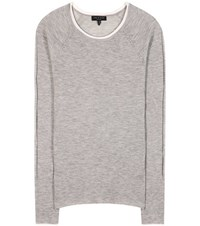 Rag And Bone Alexandra Ribbed Cashmere Sweater Grey