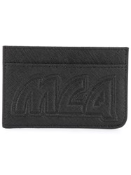 Mcq By Alexander Mcqueen Embossed Logo Cardholder Black