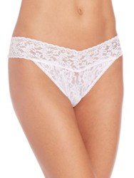 Hanky Panky Bridal 'I Do' Low Rise Thong White