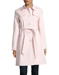 Kate Spade Button Front Trench Coat Pastry Pink