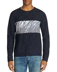Sol Angeles Sea Palm Boucle Sweatshirt Deep Sea