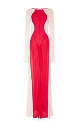 Tome Body Suit Gown Pink