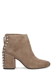 Senso Jescinta Ii Taupe Suede Ankle Boots Brown