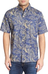 Men's Reyn Spooner 'Hidden Dragons' Classic Fit Wrinkle Free Sport Shirt