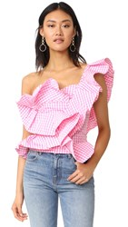 Stylekeepers She's All That Top Checked Pink