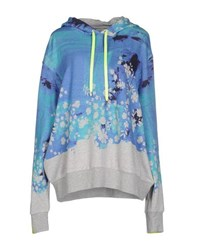 Preen By Thornton Bregazzi Topwear Sweatshirts Women Blue