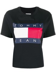 Tommy Jeans Relaxed Fit Flag Logo T Shirt 60
