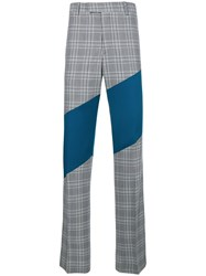 Calvin Klein 205W39nyc Contrast Tailored Trousers Blue