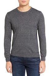Sand Men's Lightweight Cotton Sweater Charcoal