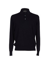 Della Ciana Knitwear Jumpers Men Dark Blue