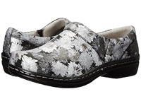 Klogs Usa Mission Silver Daisy Women's Clog Shoes