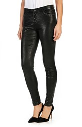 Paige Women's Claudine Leather Ankle Skinny Pants