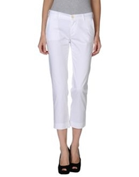 Fay Casual Pants White